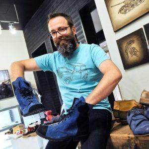Shoesmaker Andris Runcis