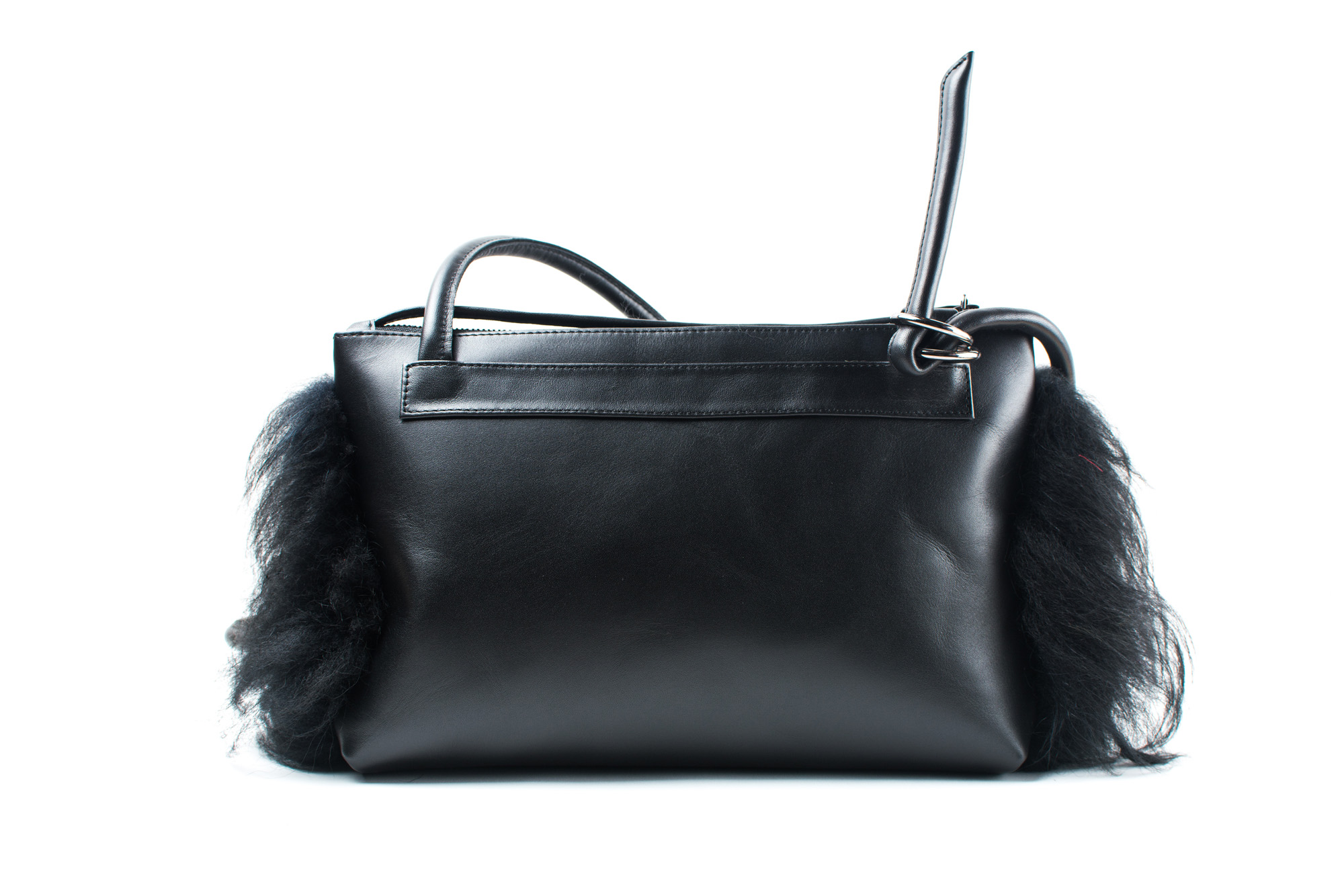 """Mountain cow leather bag """"Jella fur"""" by June9Concept"""