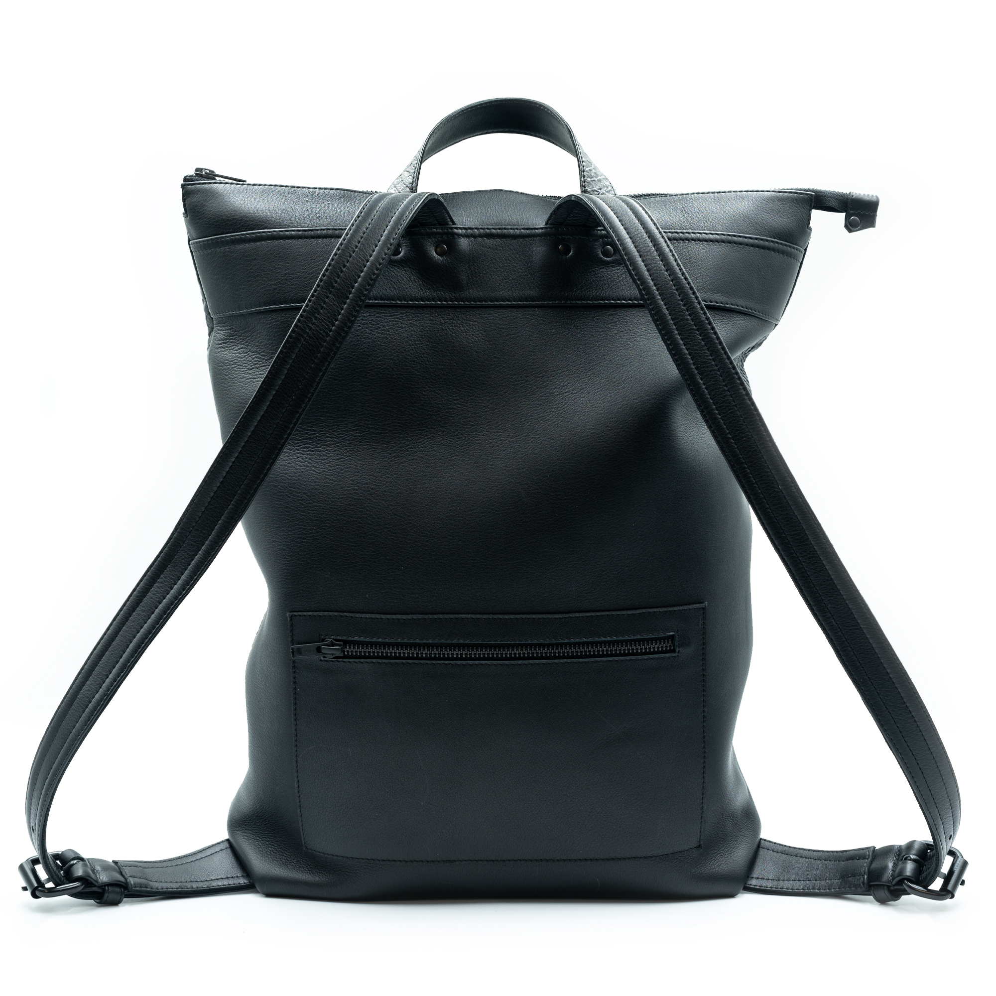 """Leather back pack """"Hanna"""" by June9Concept"""