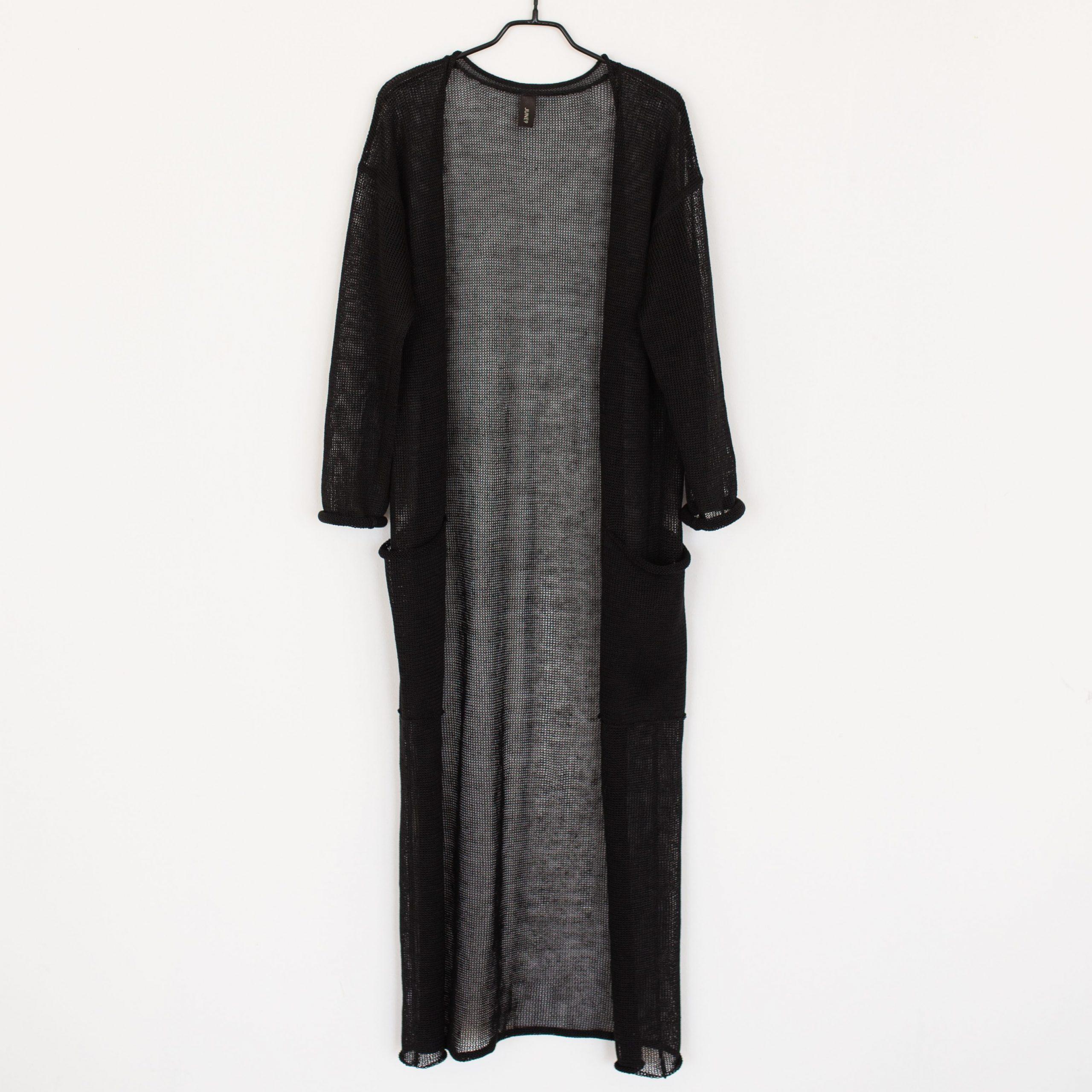 Black linen jacket by June9concept