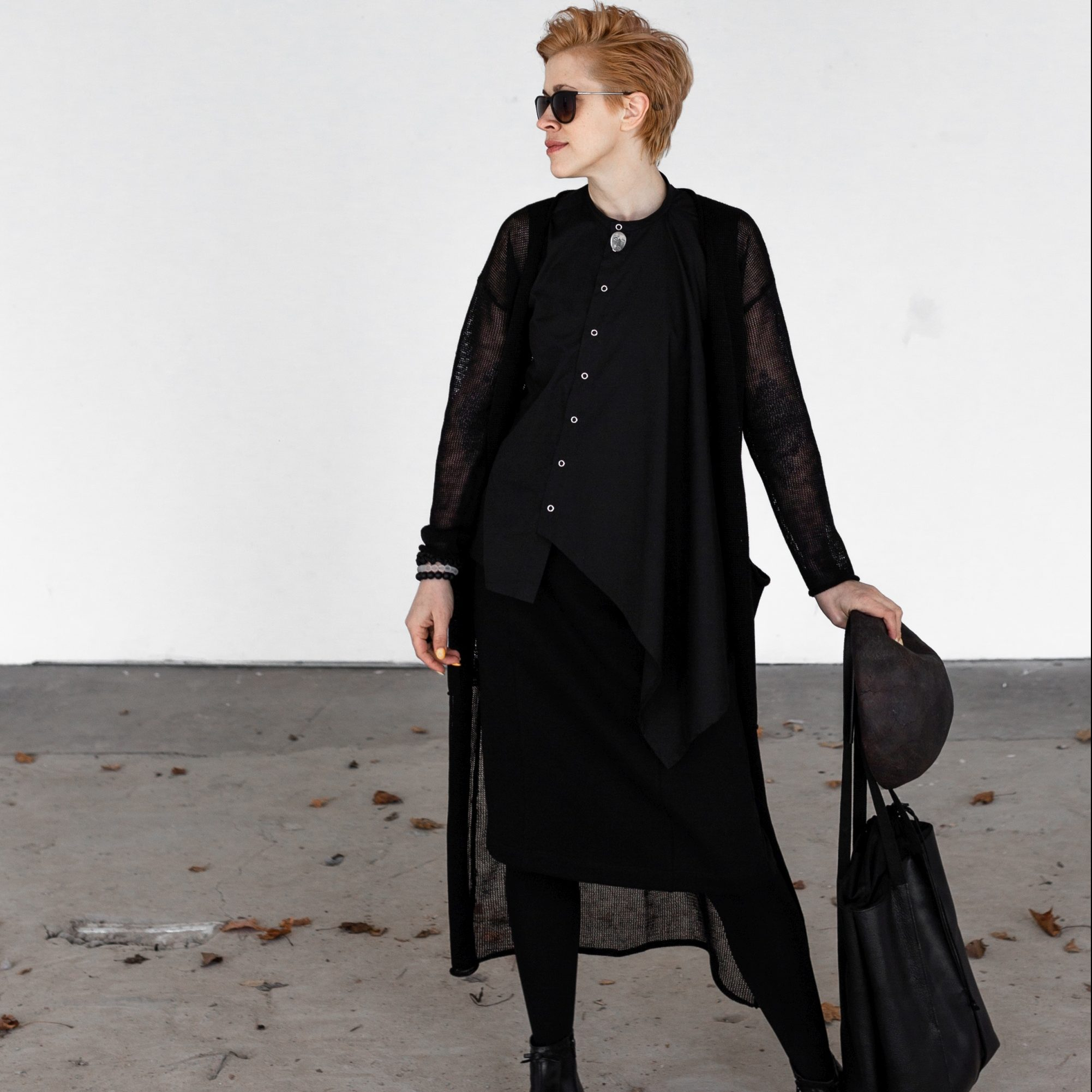 Black linen jacket by June9concept