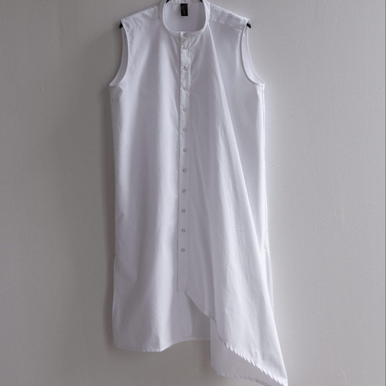 White asymmetric dress by June9Concept