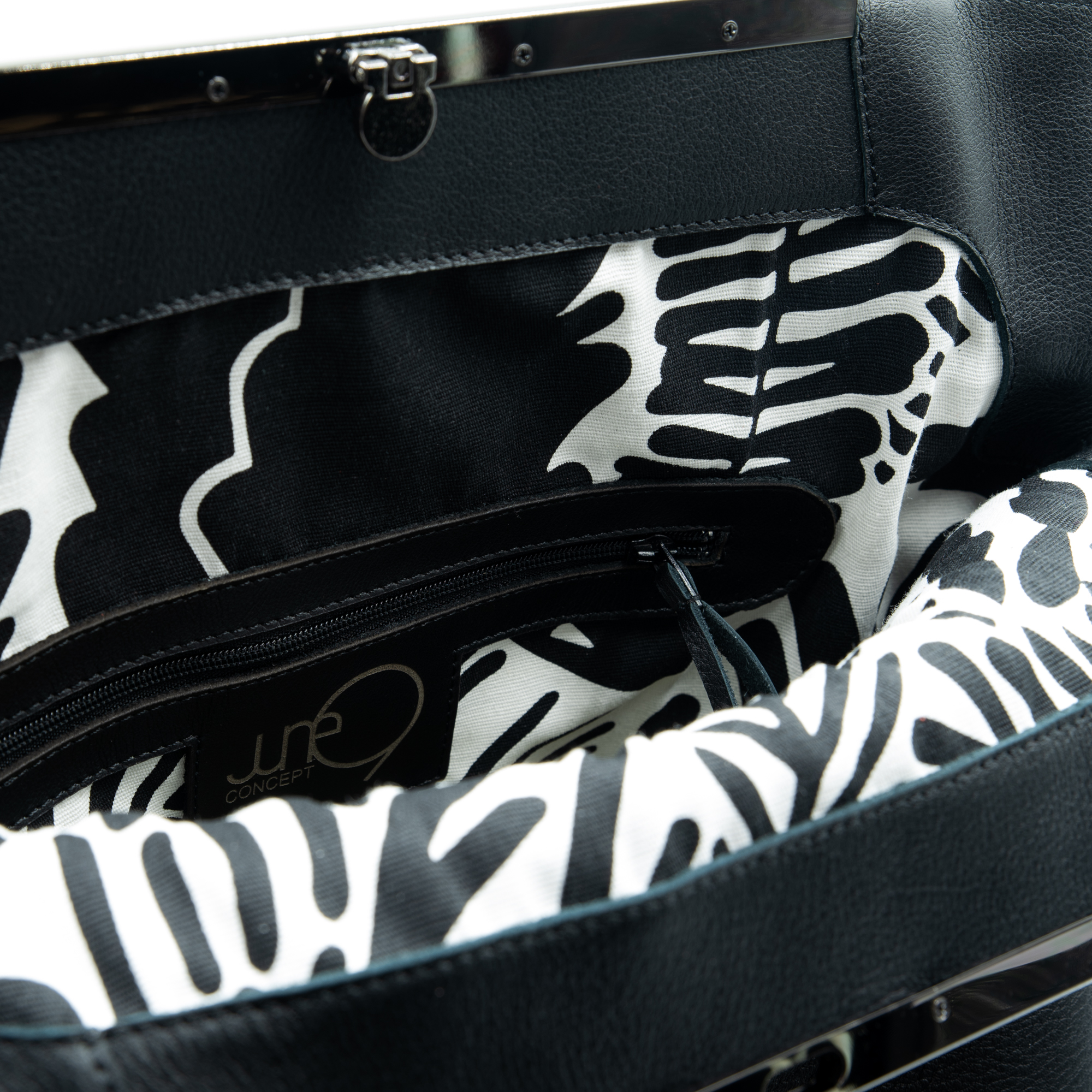 """Leather tote bag """"Koora"""" by June9Concept"""