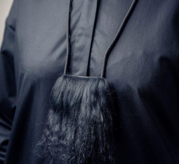 Luxury llama fur necklace By June9Concept