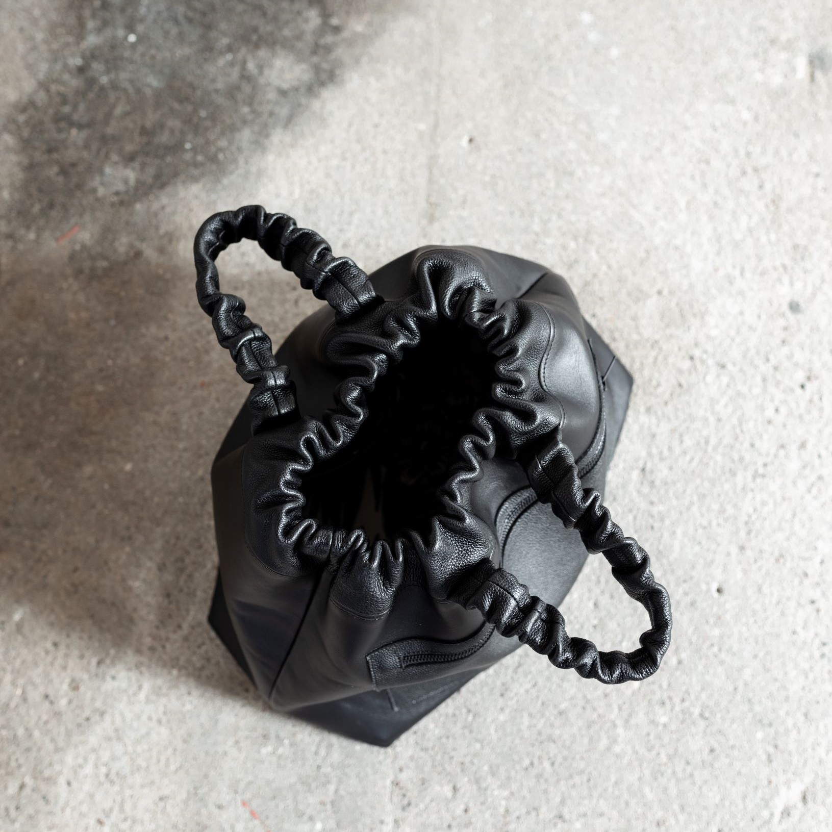 "Cow leather handbag ""Tijja"" by June9Concept"