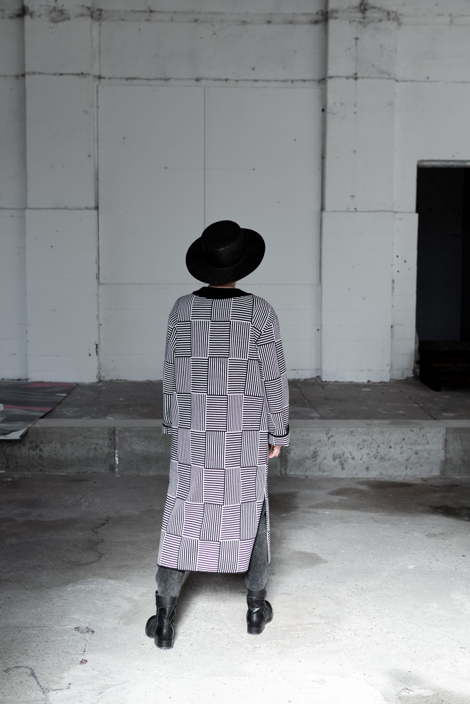Halfwool kimano by June9Concept