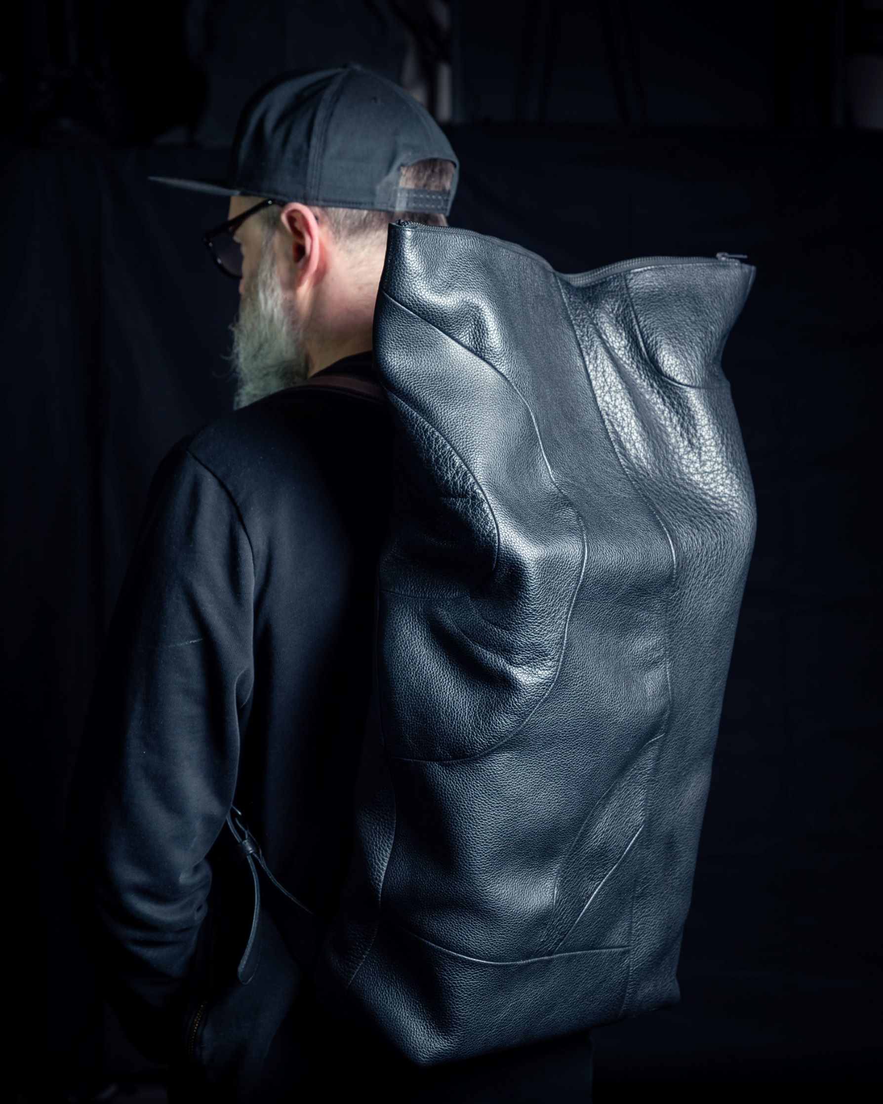 """Leather backpack """"Veino"""" by June9Concept"""
