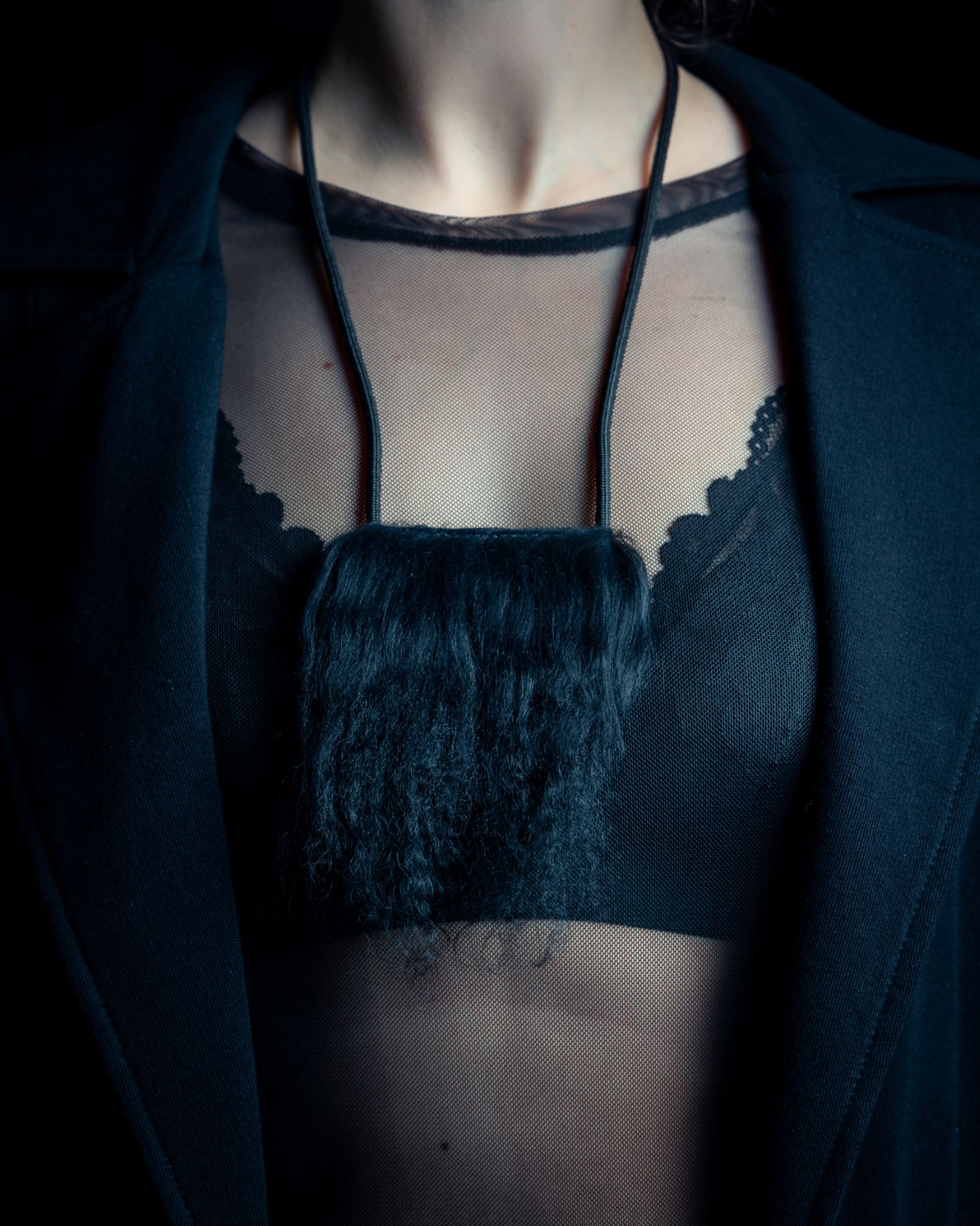 Llama necklace by June9Concept