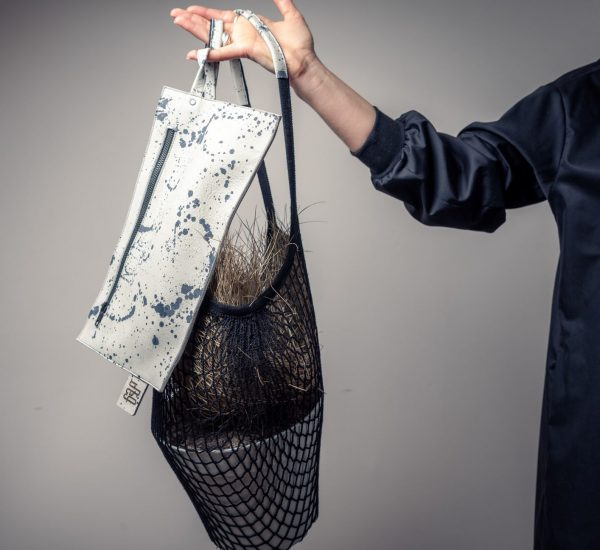 Net String Bag Painted By June9Concept